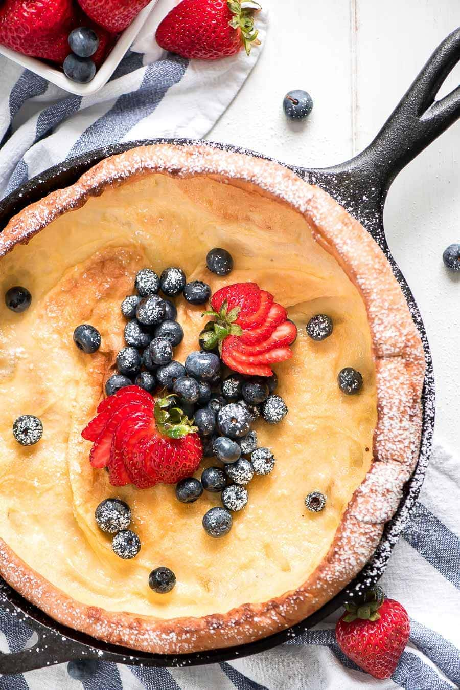 Dutch Baby Pancake Recipe