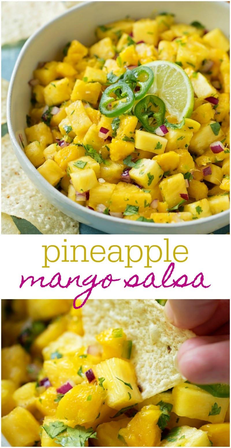 BEST Mango Salsa