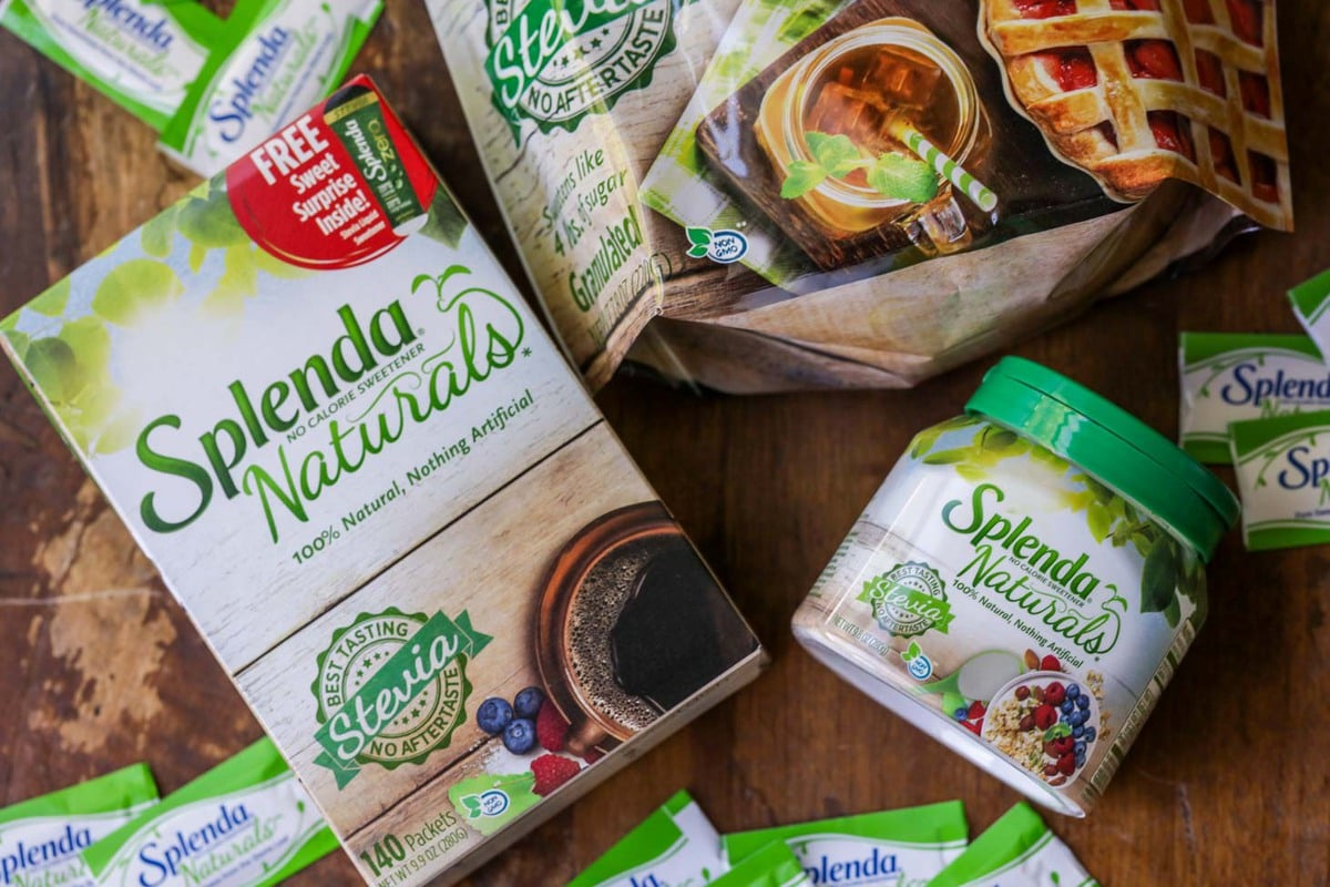 Splenda Naturals Stevia Sweetener Products
