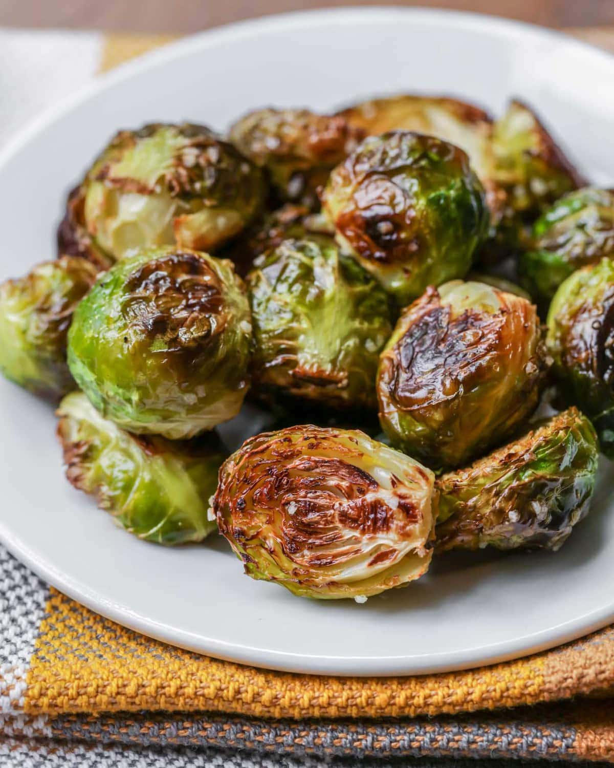 Oven Roasted Brussel Sprouts Video Lil Luna