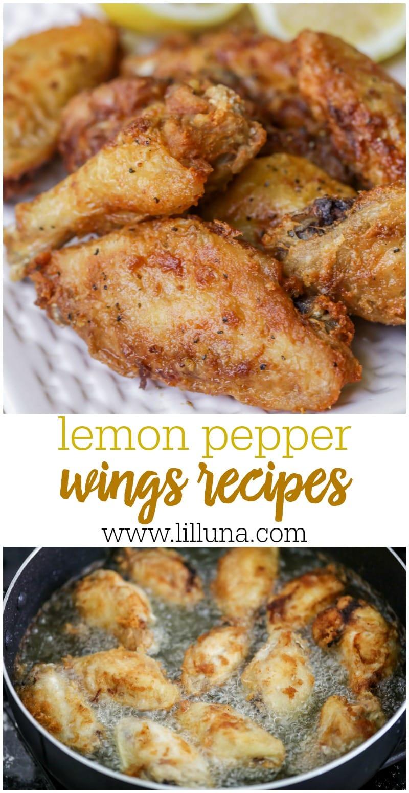 BEST Lemon Pepper Wings Recipe