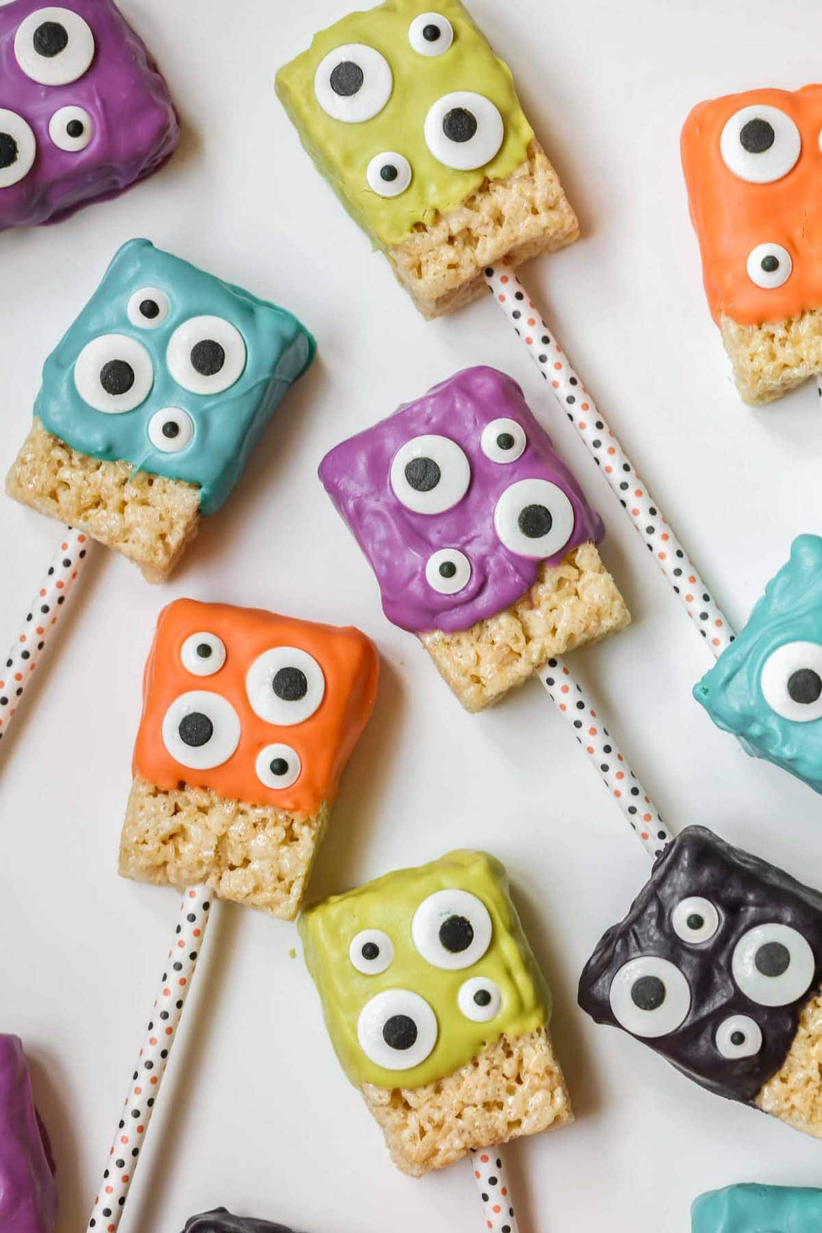 Monster Rice Krispie Treats Recipe