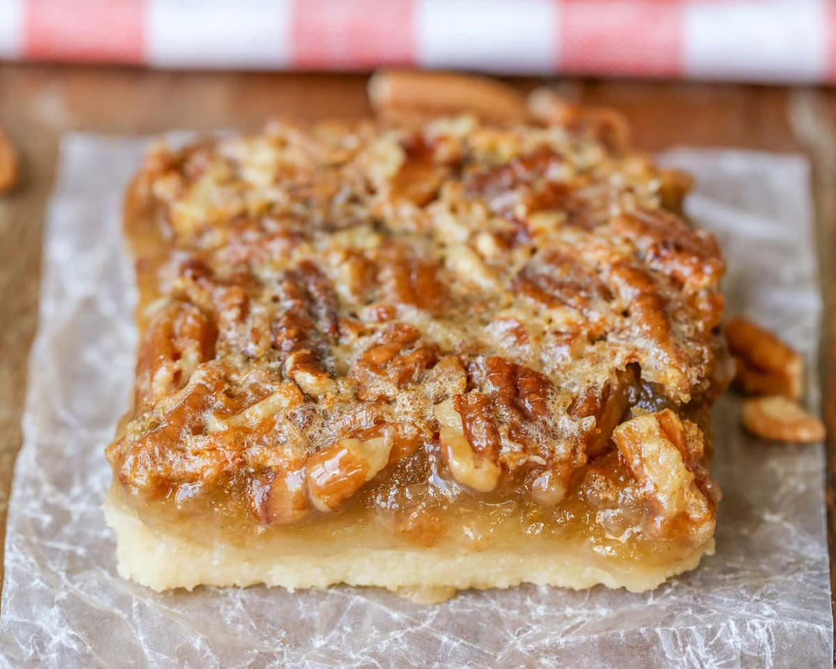 Easy Pecan Pie Bars Recipe Perfect For Holidays Lil Luna