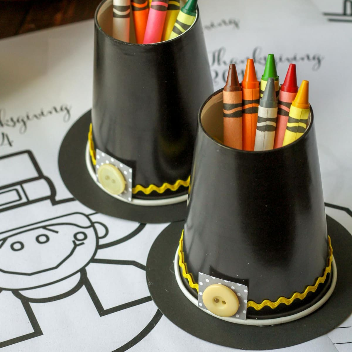 Pilgrim Hat Craft