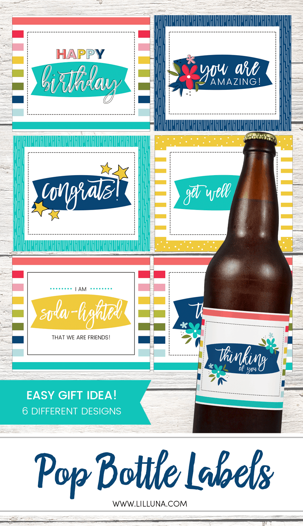 Pop Bottle Labels