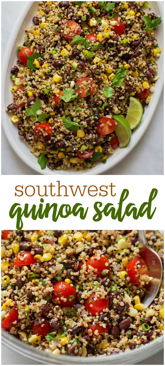 Quinoa Black Bean Salad Recipe