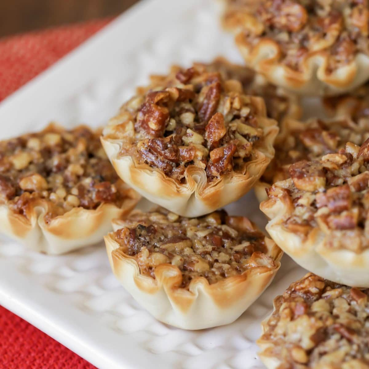 Mini Pecan Pies Recipe - Tiny Treats for Holiday Gatherings | Lil' Luna