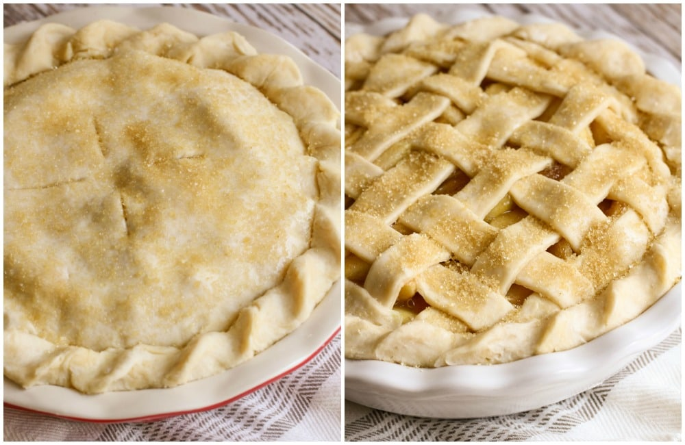 Traditional and Lattice pie crusts