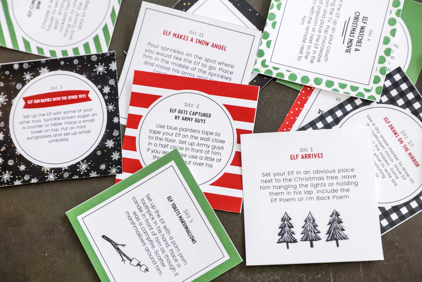 photo relating to Elf on the Shelf Printable Props identified as Amusing Elf upon the Shelf Tips + Absolutely free Printables Lil Luna