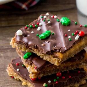 Christmas Crack Candy.Christmas Crack Recipe Aka Saltine Cracker Toffee Lil Luna