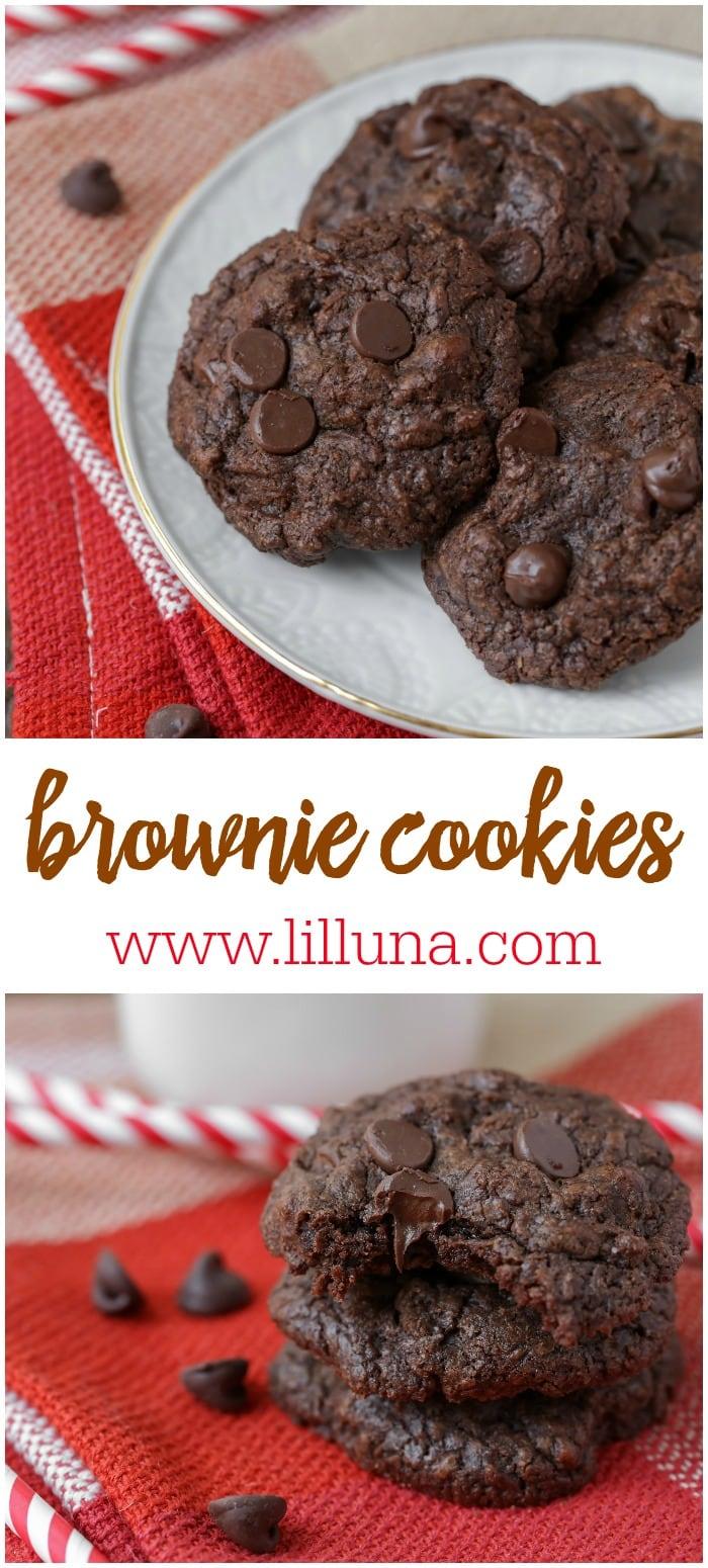 BEST Brownie Cookies