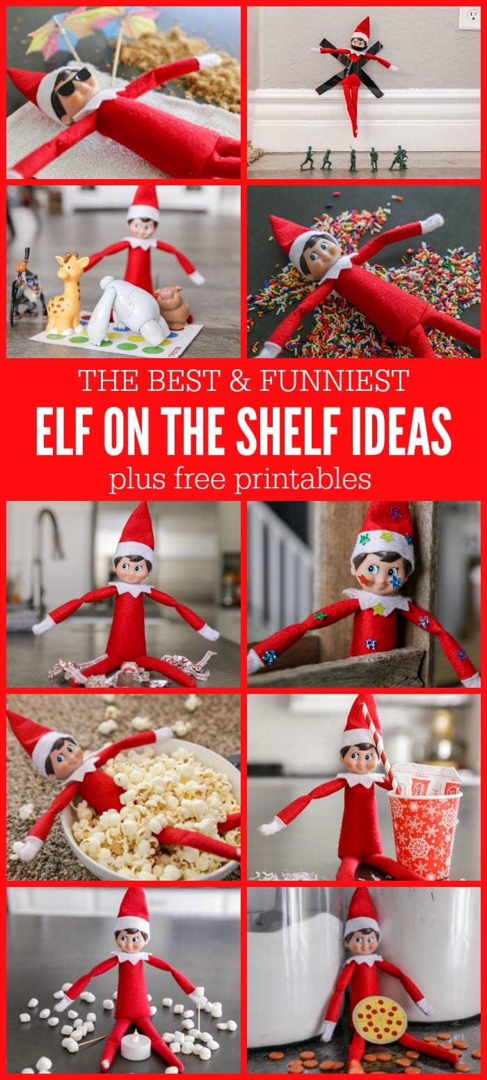 graphic regarding Elf on the Shelf Letter Printable identified as Amusing Elf upon the Shelf Plans + No cost Printables Lil Luna