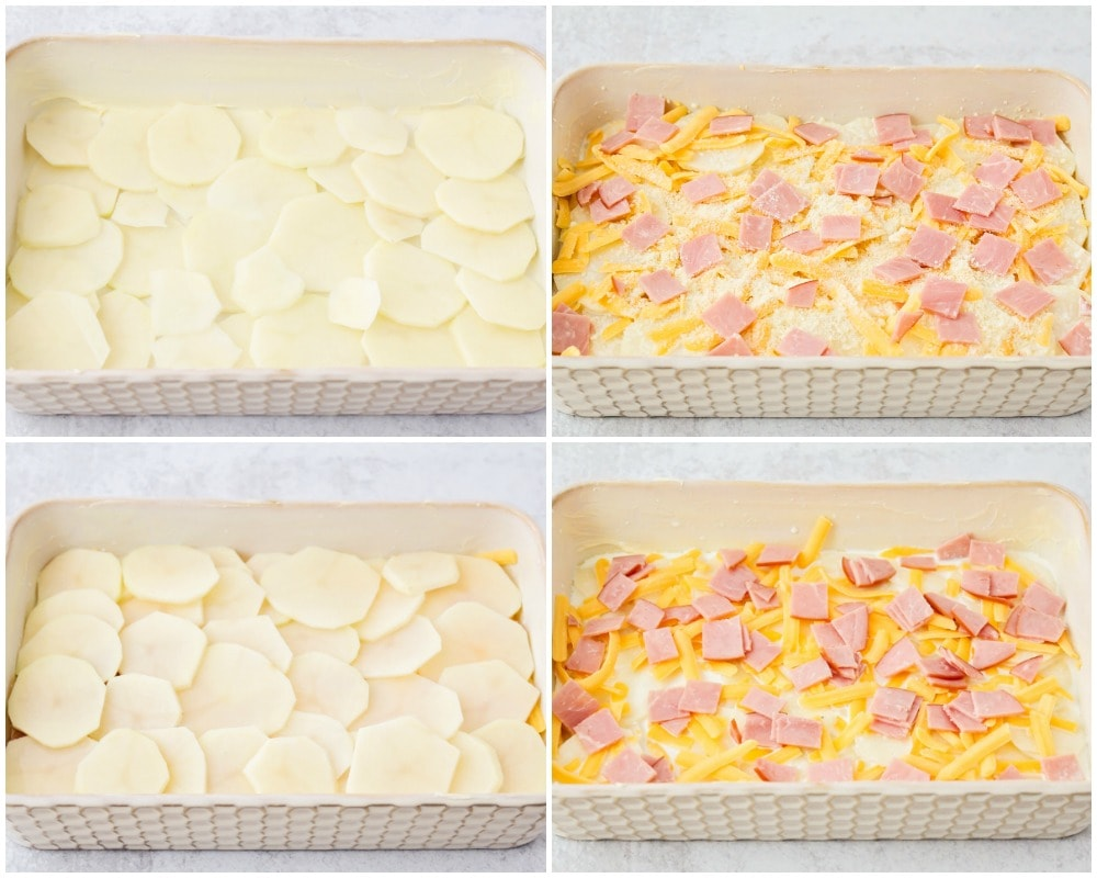 Scalloped Potatoes and Ham process pic
