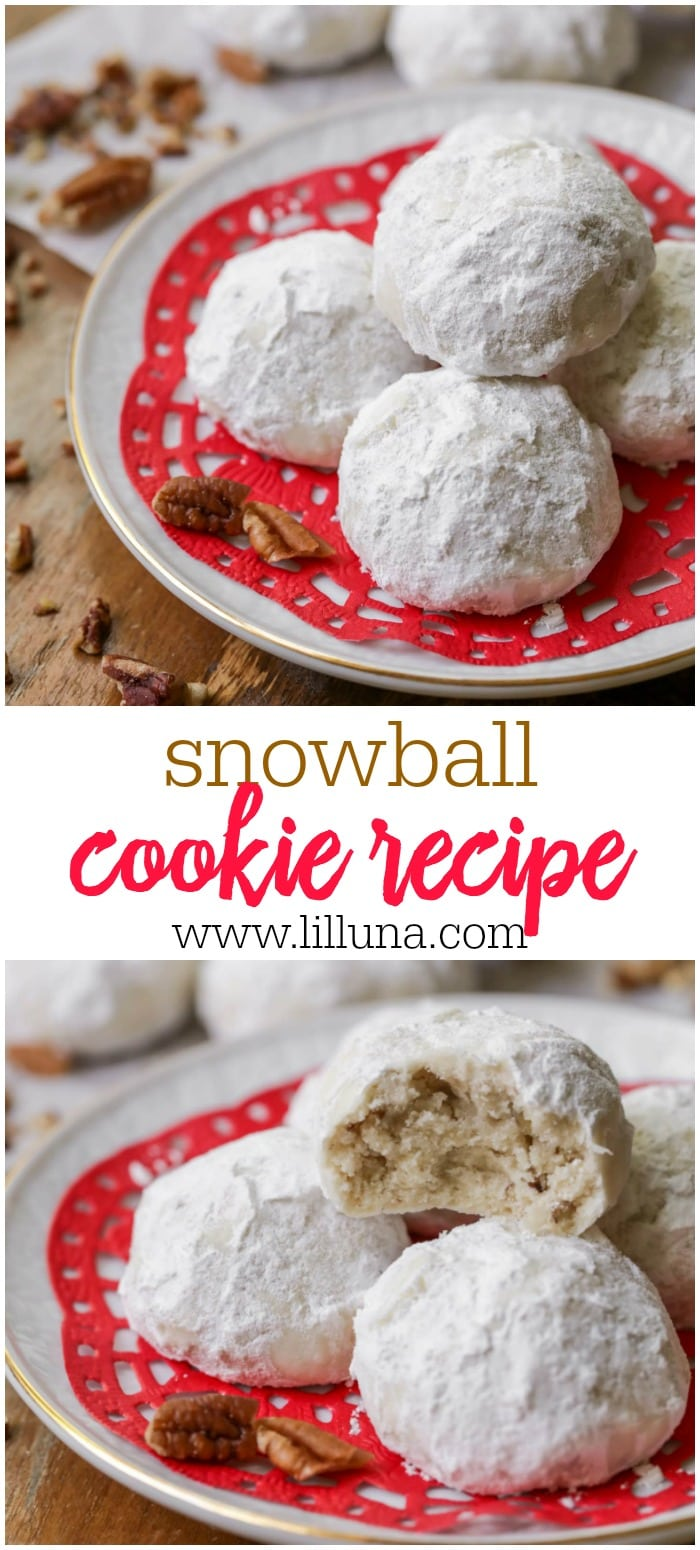 BEST Snowball Cookies