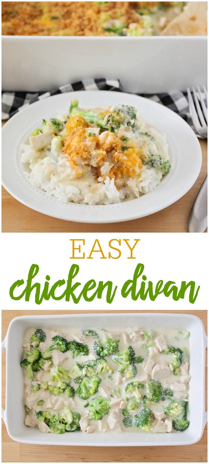 Chicken Divan with Rice