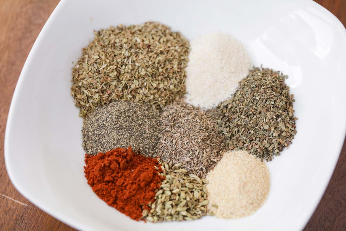 Pizza Seasoning Ingredients