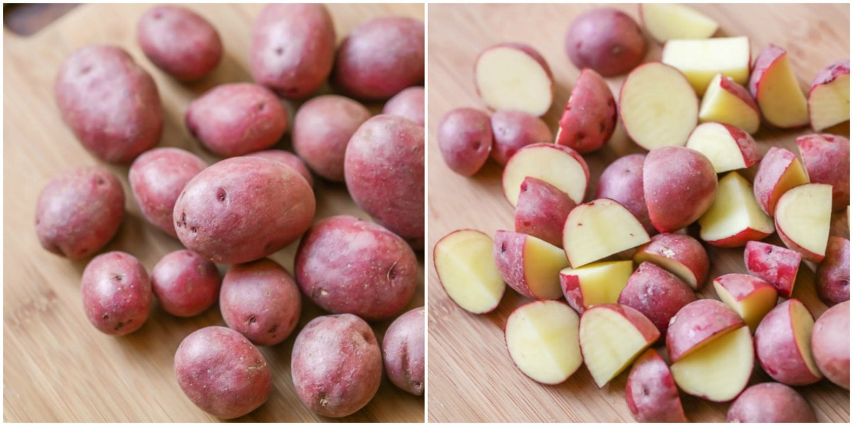 How to cook red potatoes