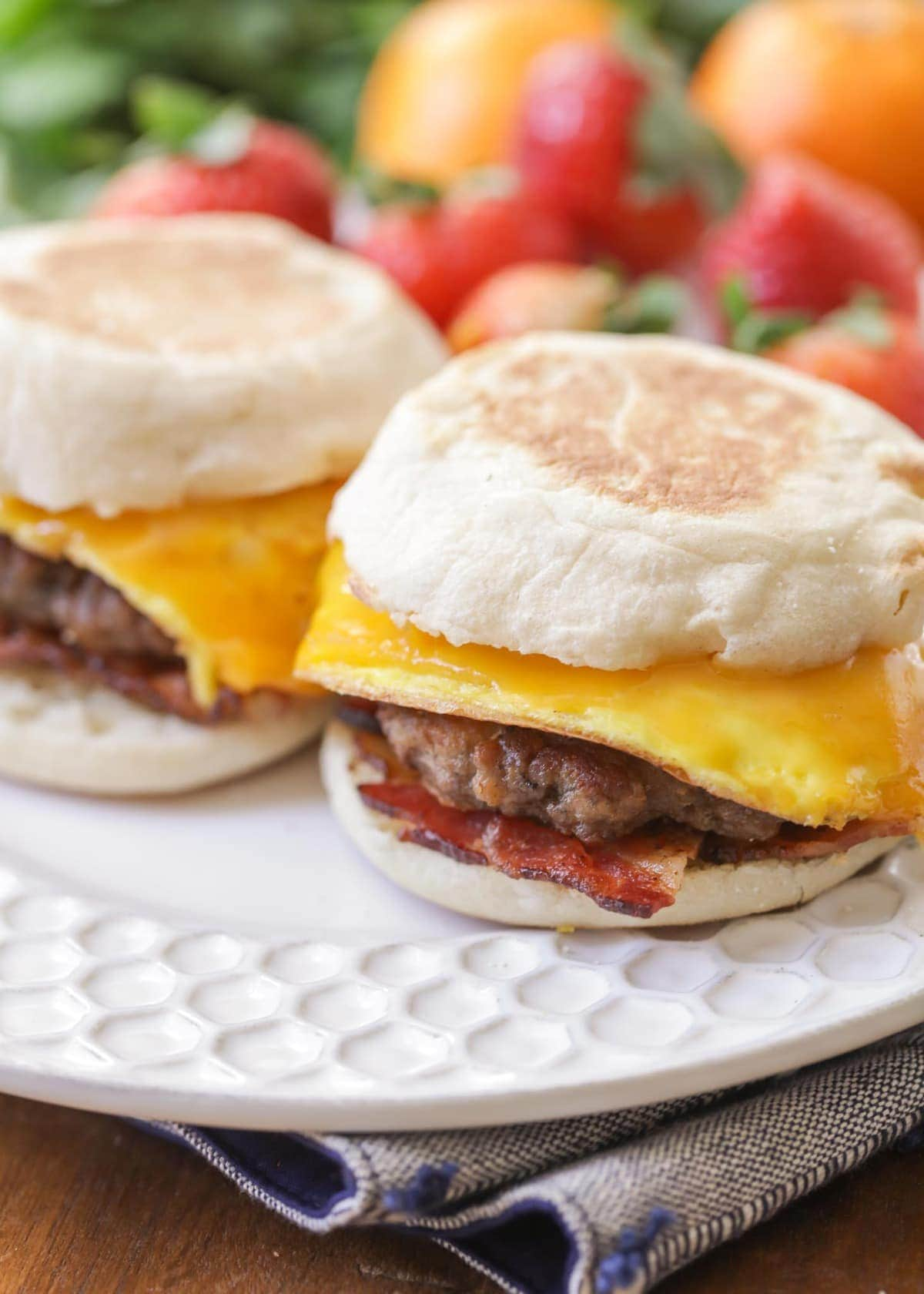 Breakfast Sandwich Recipe Make Ahead And Freeze Lil Luna