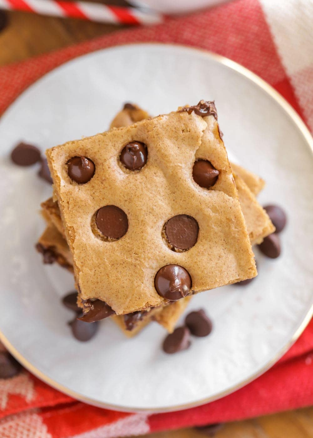Chocolate Chip Cookie Bars A Family Favorite Video Lil Luna