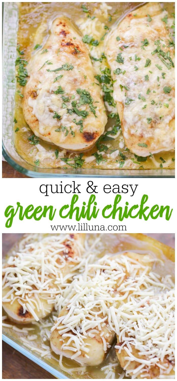 Easy Green Chili Chicken