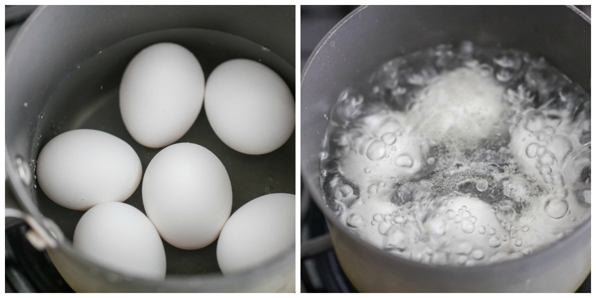 How to boil perfect eggs - in water in pot