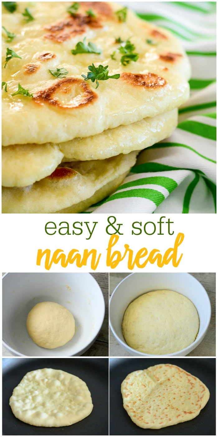 Homemade Naan Bread - So Easy and Soft | Lil' Luna