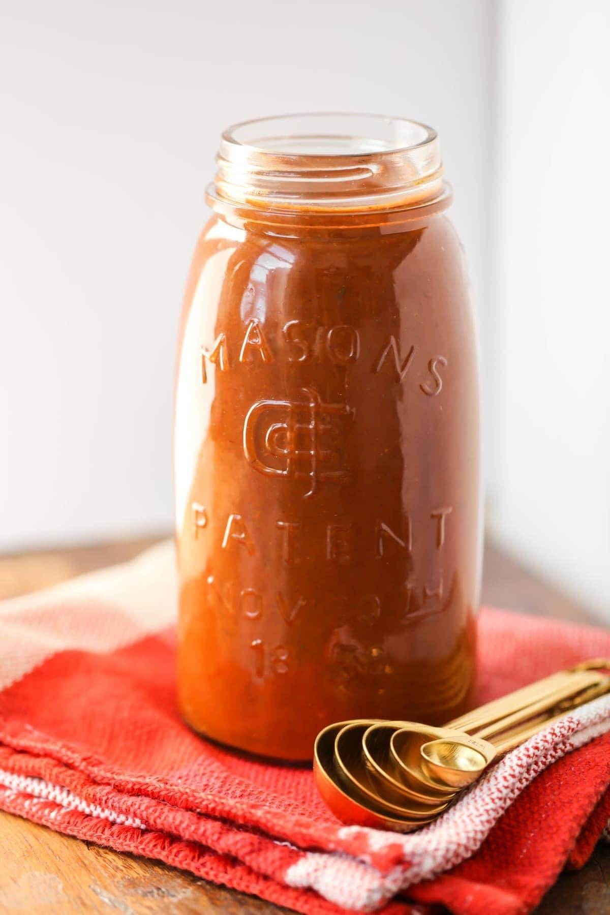 Red Enchilada Sauce Recipe in a Jar