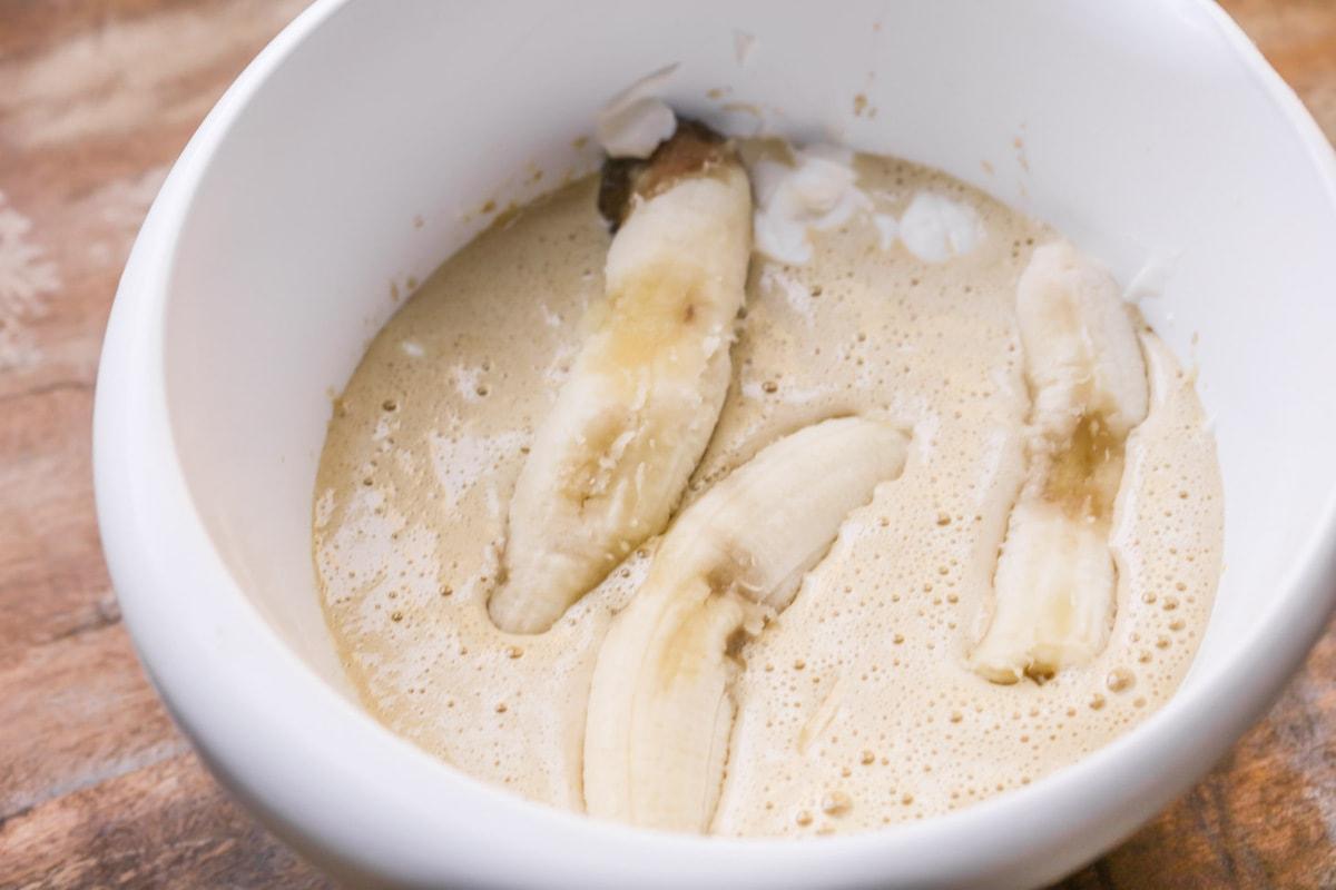 How to Make Banana Nut Bread process pics