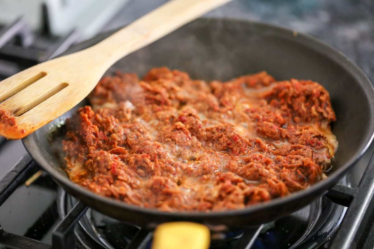 How to cook chorizo - in pan