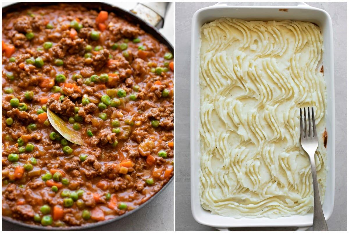 How to make shepherd's pie aka cottage pie