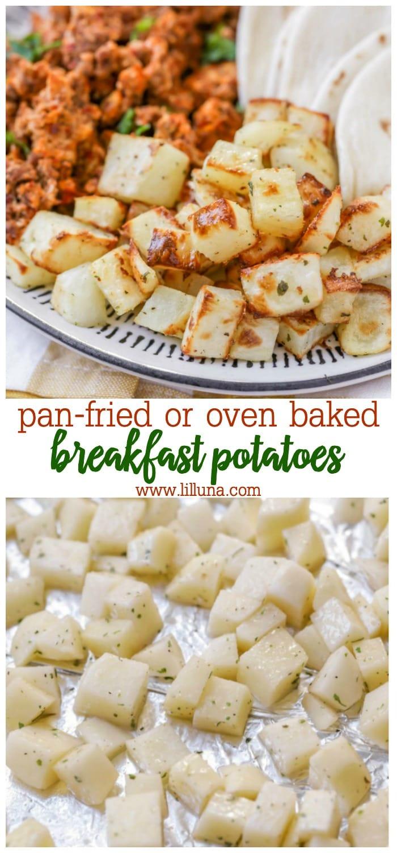 crispy breakfast potatoes recipe
