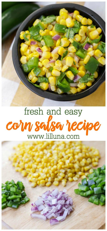 easy corn salsa recipe