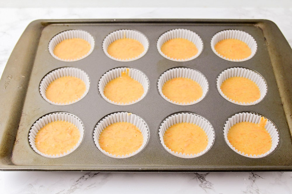How to make carrot cake cupcakes