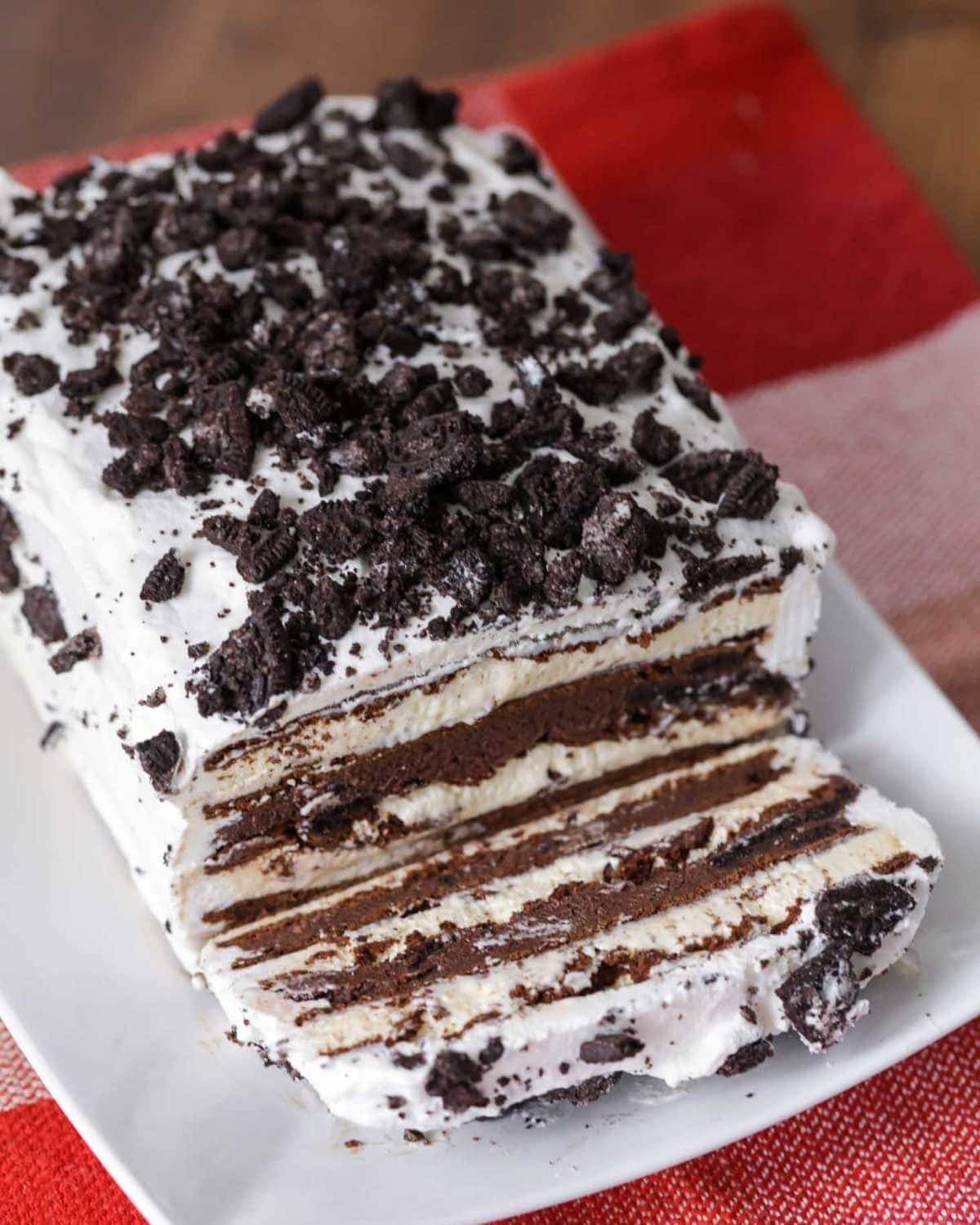 Ice Cream Sandwich Cake Only 10 Minutes To Prep Lil Luna