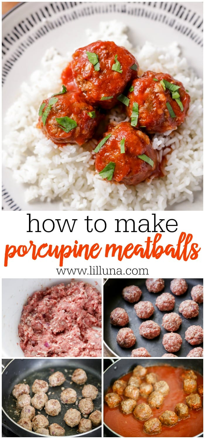 Delicious Porcupine Meatball Recipe