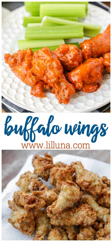 Buffalo Wings/Hot Wings Recipe
