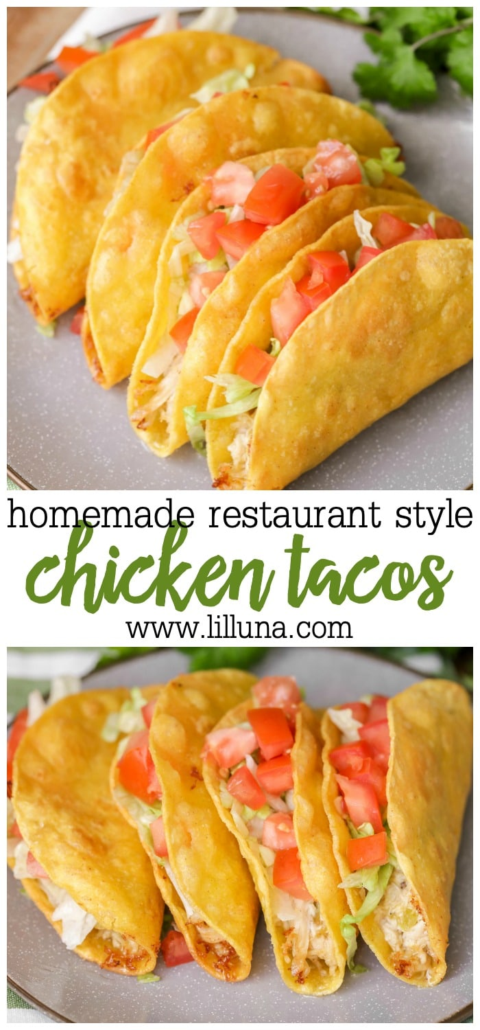 Restaurant Chicken Taco Recipe