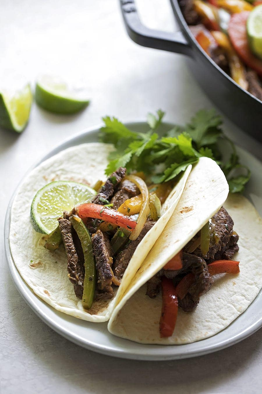 Restaurant Style Steak Fajitas They Re Easier Than You Think Lil Luna