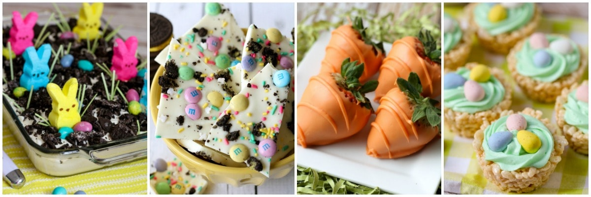 Cute Easter desserts