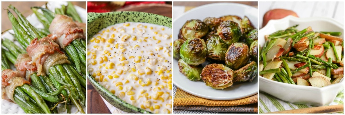 Easter vegetable side dishes