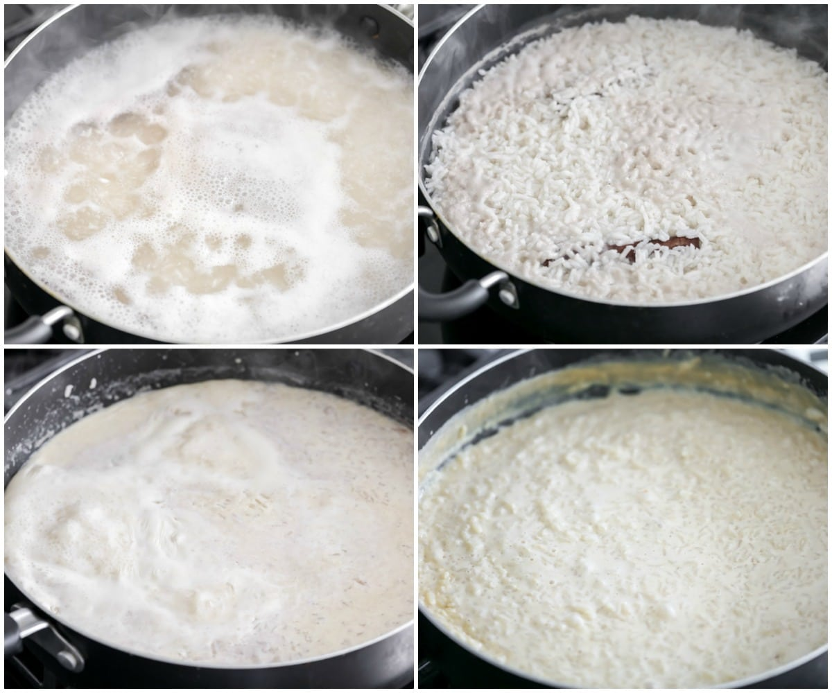 Arroz con leche recipe process pictures