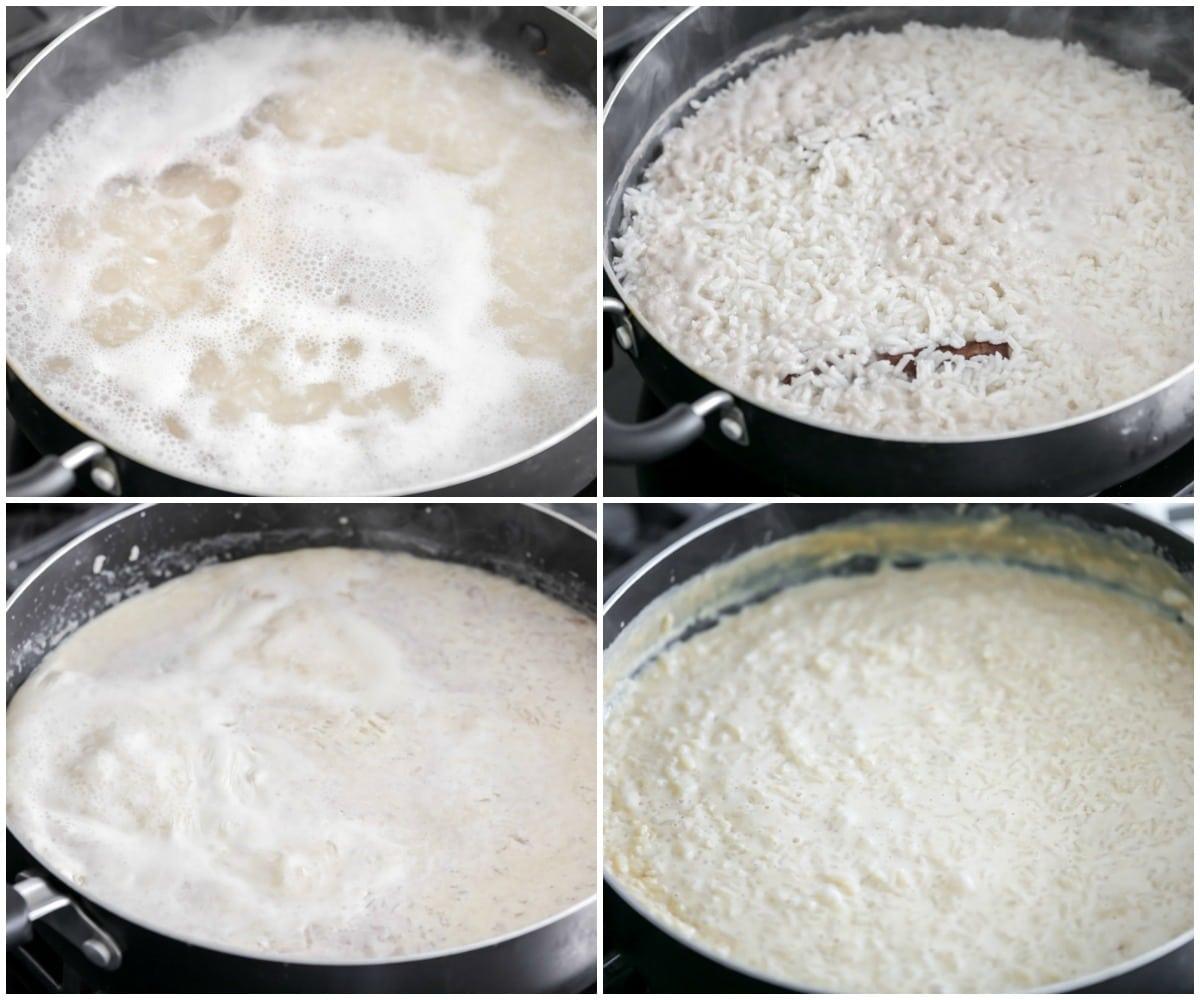 Arroz con leche recipe process pictures