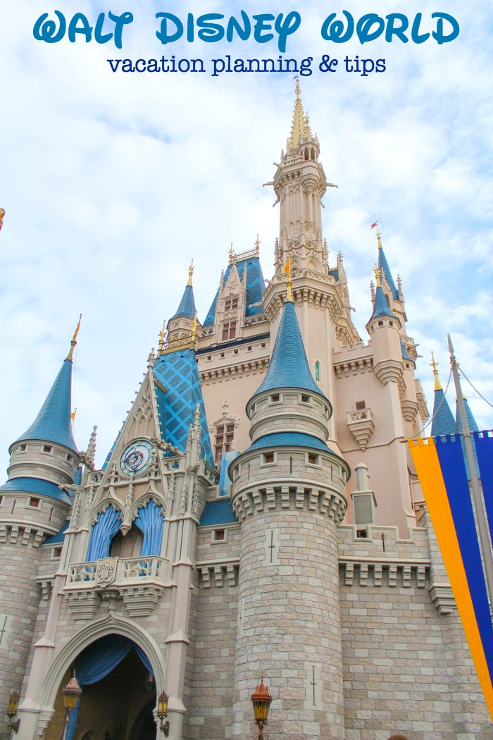 Disney World vacation planning - pic of Magic Kingdom Castle