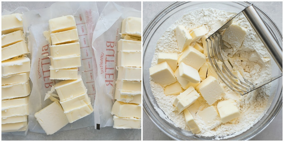 Butter pie crust recipe process pics