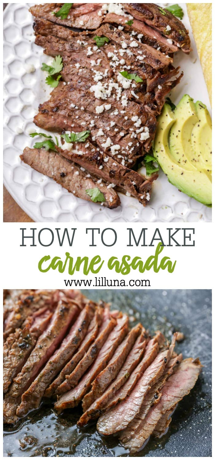 how to make carne asada