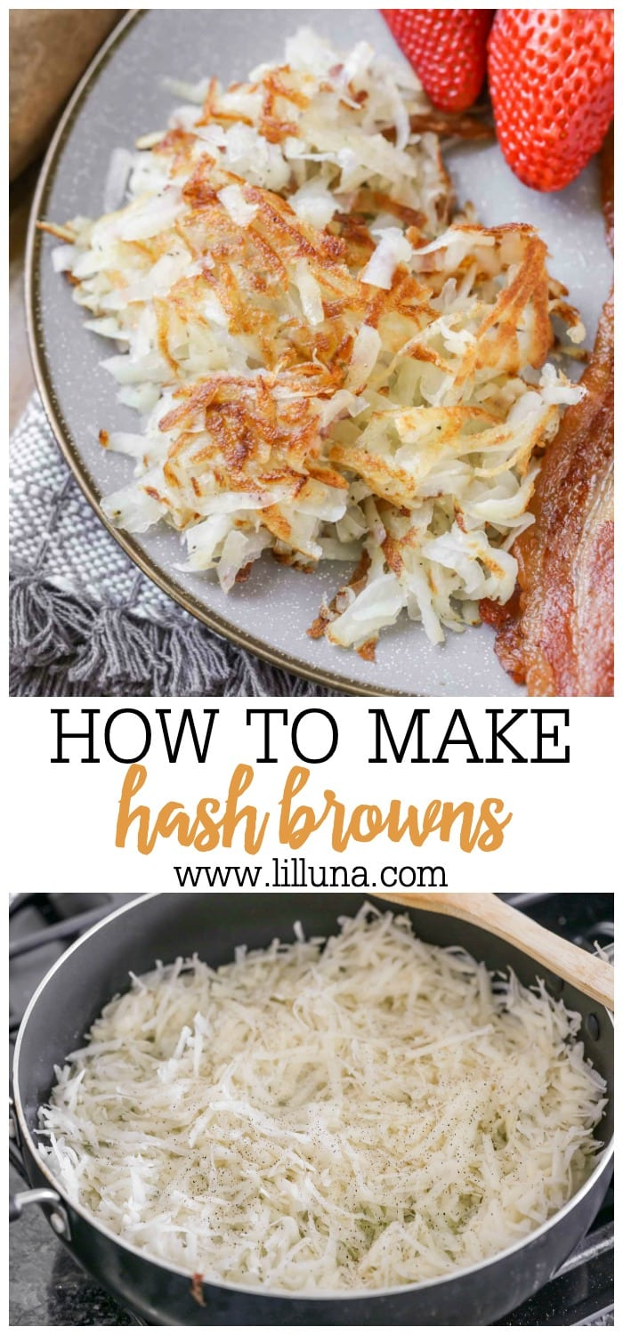 How to Make Hash Browns at home!