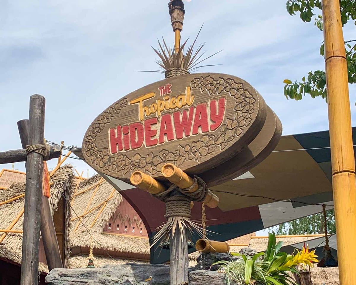 The Tropical Hideaway - a list of the best restaurants at Disneyland