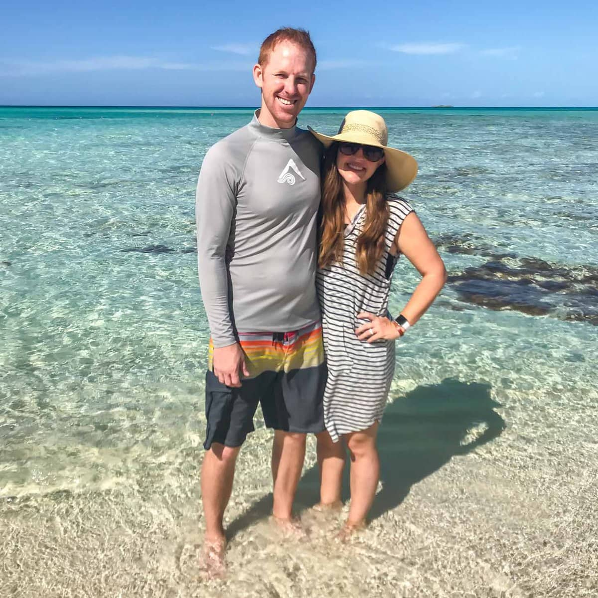Couple on Castaway Cay