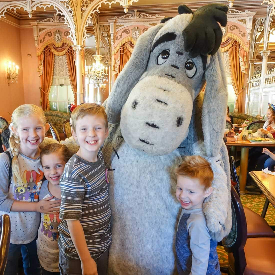 Disney Character Dining info