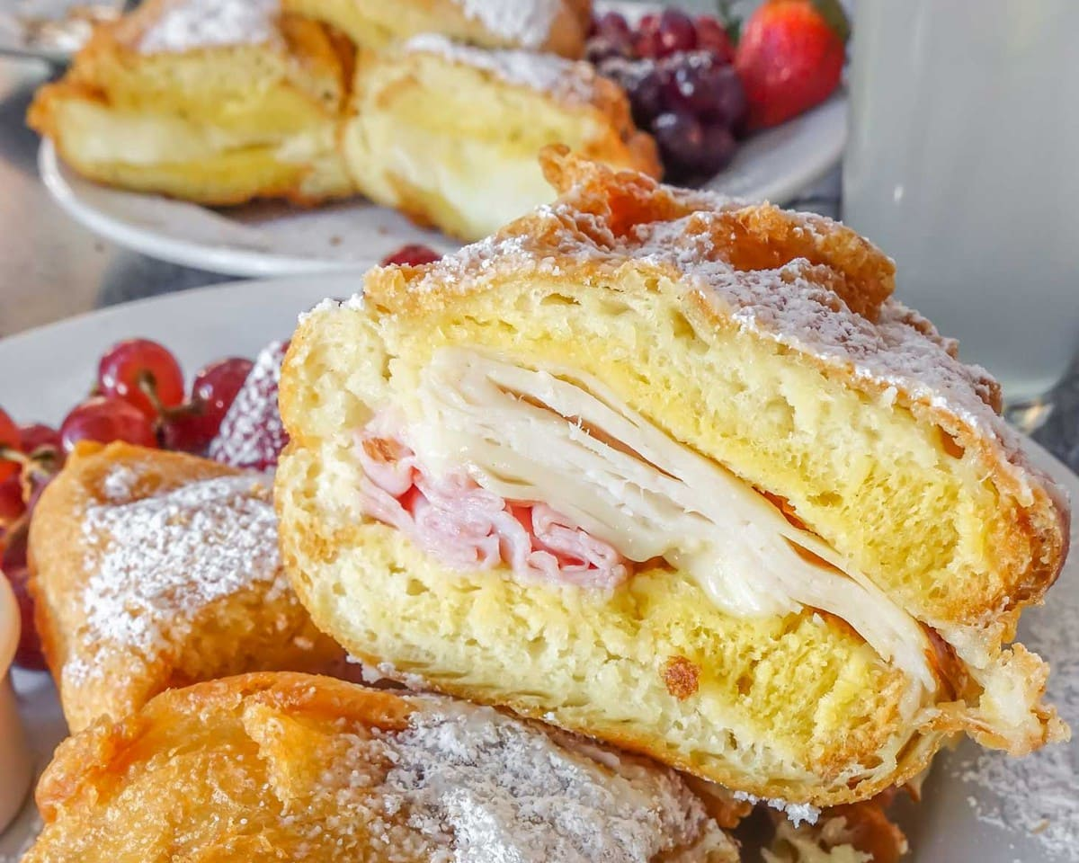Monte Cristo Sandwich - from a list of the best food at Disneyland